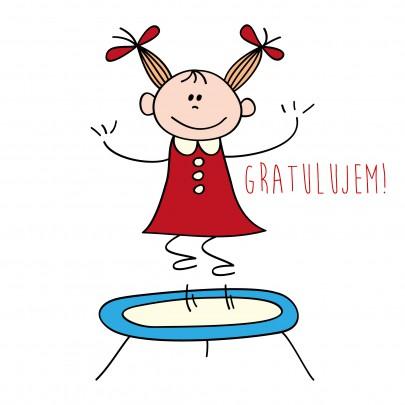 Pohľadnica gratuľujem blahozelam radost uspech  - k meninám, príležitosti