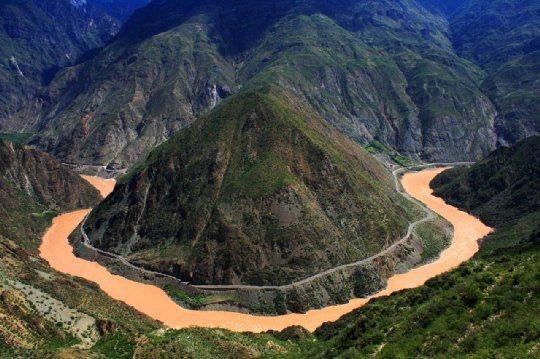 Pohľadnica jang c tiang dlha rieka 04  -