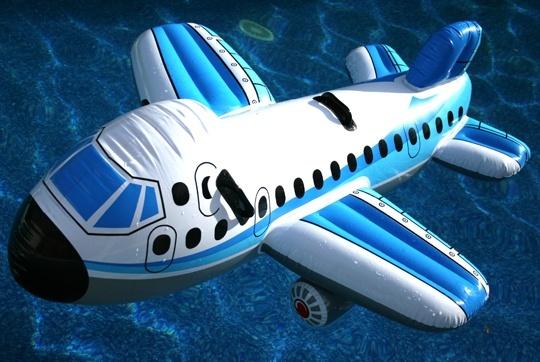 Pohľadnica leto lietadlo voda prazdniny dovolenka  -