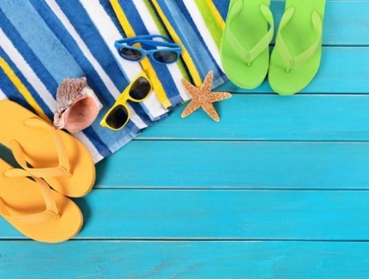 Pohľadnica leto plaz prazdniny dovolenka  -