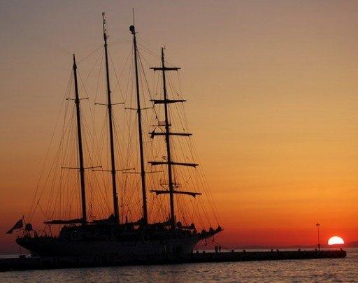 Pohľadnica lod cln plachetnica 017  -