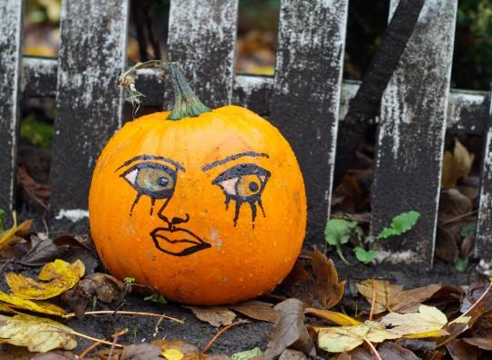 Pohlednice oktober tekvica  -