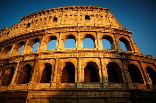 Pohľadnica rim rome 02  -