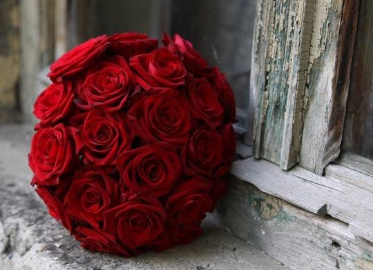 Pohľadnica ruze kytica nostalgia  -