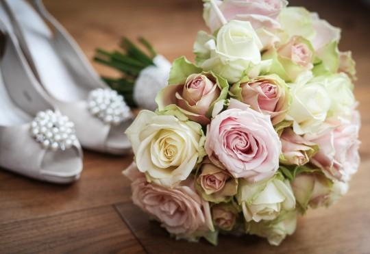 Pohľadnica svadba z lásky kytica 052  -