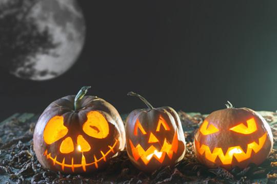 Pohľadnica tekvica svetlonos jesen halloween 02  -