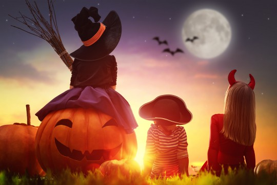 Pohľadnica tekvica svetlonos jesen halloween 03  -