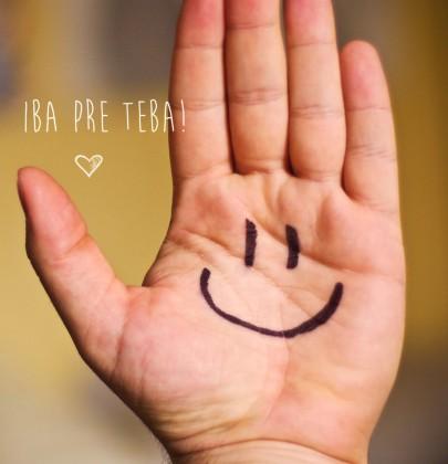 Pohľadnica usmev iba pre teba  -
