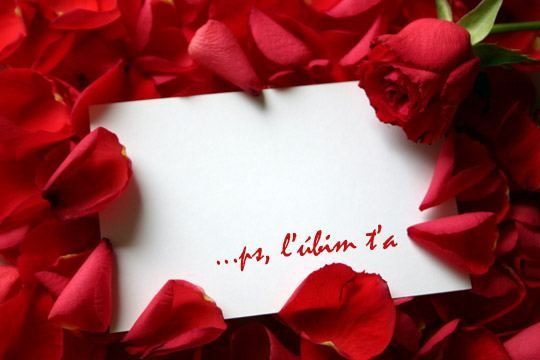 Pohľadnica Valentín z lásky 033  -