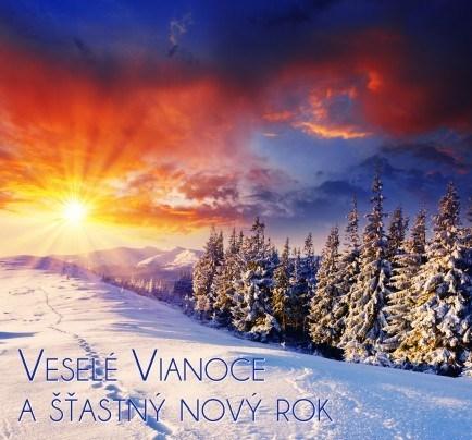 Pohľadnica veselé Vianoce a šťastny Nový rok 03  -