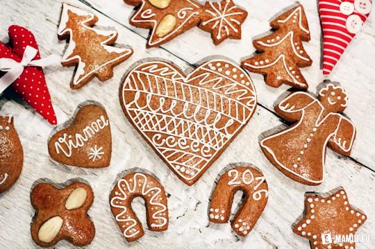 Pohľadnica Vianočné medovnicky Vianoce 2  -