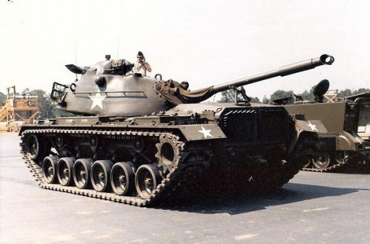 Pohľadnica vojenska technika tank 01  - historické, auto-moto, technika