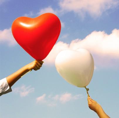 Pohľadnica z lásky myslim na teba láska 032  -