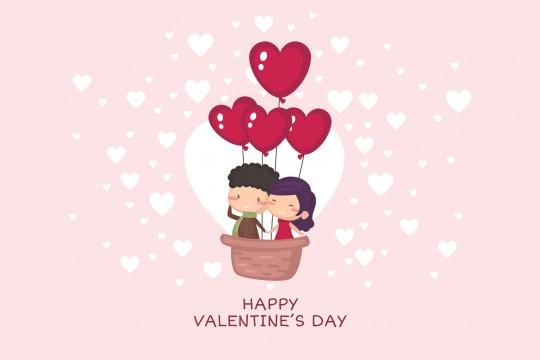 Pohľadnica z lásky Valentín 01  -